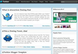 twitter blogger template 2014 free download
