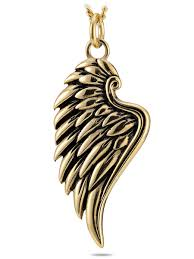 gold wing necklace images Gold angel wing necklace scripture necklace psalm 34 7 jpg