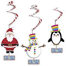 christmas tree honeycomb decorations pack of 4 amazon co uk