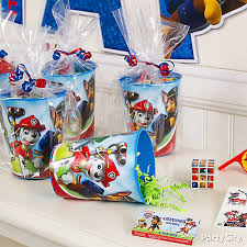 Favors Ideas by Paw Patrol Favor Cup Idea City