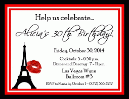 paris themed invitations that are sure to impress