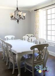 Dining Room Tables White Chalk Paint Dining Table French Gray Annie Sloan Dining Table
