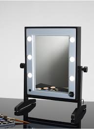 Tabletop Vanity Mirrors With Lights Lighted Tabletop Vanity Mirror Hollywood Style