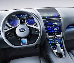 subaru wrx custom interior impreza design concept