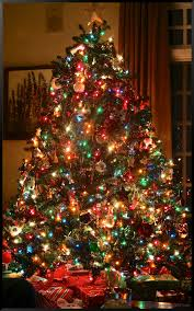colored christmas tree lights christmas window posters google search country christmas