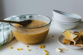 que cuisiner avec des carottes potage de maïs et carottes avec croûtons à l ail