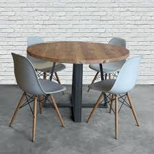 round wood dining table 6 chairs round breakfast table for 6 solid