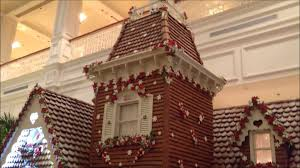 christmas decorations at disney s grand floridian resort youtube
