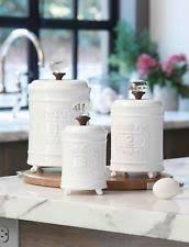 unique kitchen canister sets mud pie ceramic kitchen canister sets ebay