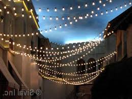 differences in commercial outdoor string lights with outdoor