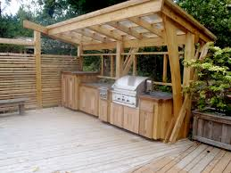Outdoor Kitchens Design Building An Outdoor Kitchen With Wood Outofhome
