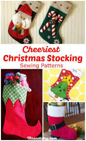 surprise santa with the cutest christmas stocking sewing patterns