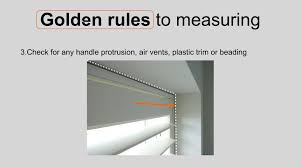 measuring a window for plantation shutters golden rules youtube