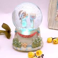 snow globe box practical ornaments