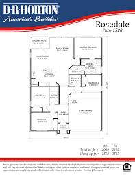 Floor Plan Builder by Rosedale Country Lakes Rayne Louisiana D R Horton