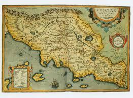 Maps Of Italy Ancient Map Of Italy Tuscany Tuscanyagriturismogiratola