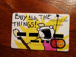 the lansey brothers buy all the things credit card design