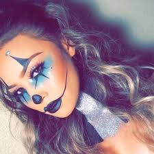 Ladies Clown Halloween Costumes 25 Clown Makeup Ideas Harlequin Makeup