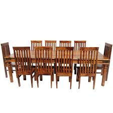 Large Dining Room Rustic Large Dining Room Table Chair Set For 10 People Formal