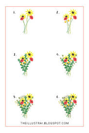 how to draw an autumn flower bouquet the illustrai