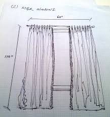 Drape Of Fabric How Many Yards Do I Need For These Curtains Anthony Lawrence Blog