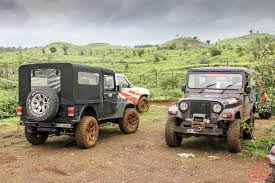 indian jeep mahindra 4x4 experience at the mahindra adventure off road training academy