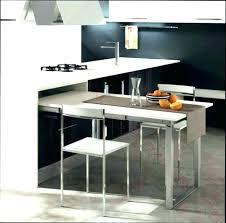 table escamotable cuisine cuisine avec table integree meuble avec table rabattable table de