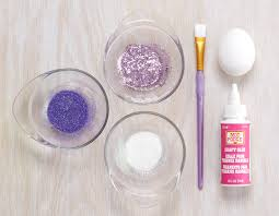 glitter easter eggs diy glitter eggs how to make glitter easter eggs proflowers