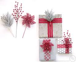Present Decoration Faux Wrapped Presents Decorations