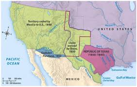 map of mexico with states mexican cession history territory mexican cession summary us