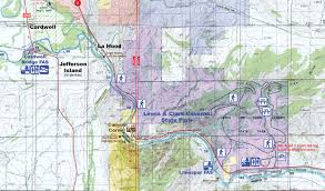 Lewis And Clark Map Jefferson River Canoe Trail Project We Proceeded On Volume 40