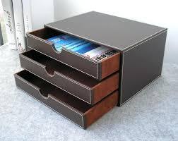 classeur de bureau pas cher classeur rangement bureau horizontal 3 couche 3 tiroir bois bureau