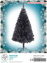 4ft 5ft 6ft 7ft 8ft quality black artificial tree