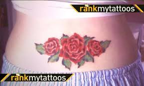 red rose lower back tattoo 1000 geometric tattoos ideas