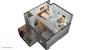 house design with floor plan 3d stunning house design plans 3d 2 bedrooms including bedroom awesome
