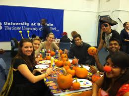 bu halloween party at the australian hotel study abroad sydney