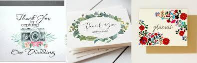 wedding thank you card 7 wedding thank you card ideas wedded