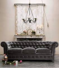 tufted back couch foter