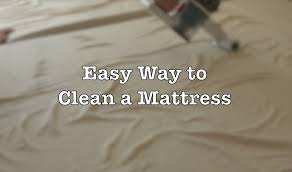 how to clean a mattress the easy and fast way to do it youtube