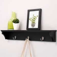wall mounted coat rack nexxt design finley wall mounted coat rack wall shelves and
