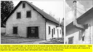 gaz chambre à gaz la chambre à gaz du struthof et l affaire des squelettes de juifs