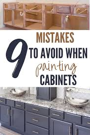 is it a mistake to paint kitchen cabinets 9 cabinet painting mistakes and how to avoid them the