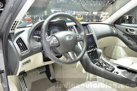infiniti qx30 interior infiniti q50 hybrid interior at the 2016 geneva motor show
