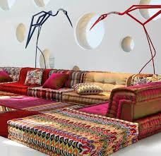 canapé marocain moderne le canapé marocain qui va bien avec votre salon archzine fr