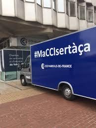 chambre de commerce val de marne cci val de marne on le camion maccisertàça est arrivé à