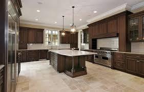 dark kitchen cabinets and light granite home design ideas