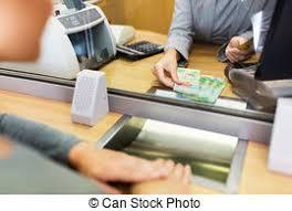 le bureau banquier bureau argent commis espèces francs suisses banque