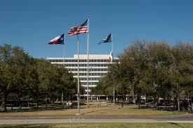 Houston City Flag File Building 1 At The Johnson Space Center Houston Texas Jpg