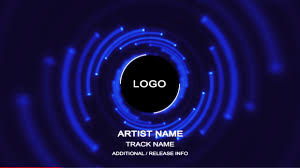 audio circular tunnel music visualizer after effects