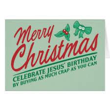 Merry Birthday Card Christmas Birthday Cards Invitations Zazzle Co Uk